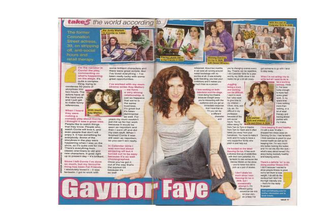 take5 - Gaynor Faye