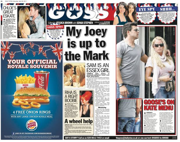 Daily Star Goss