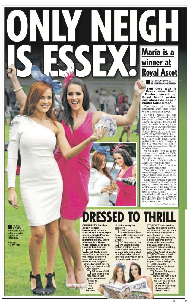Daily Star - Ascot
