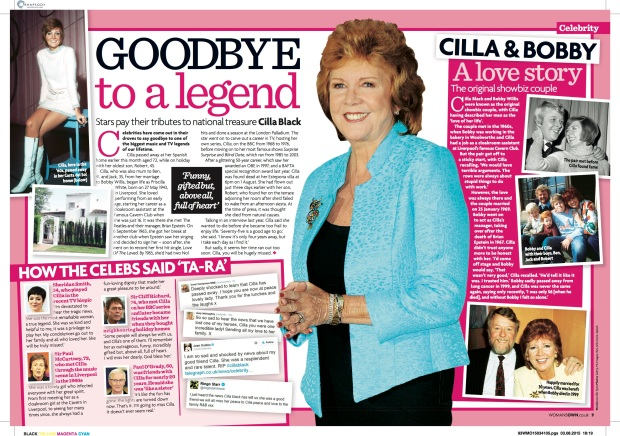 2015 34 Cilla Tribute